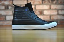 Converse All Star Waterproof Boot Hi Leather Quilted Black 157492C Size 10