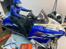 Vintage 2002 Inter Active Toy RC XL Polaris Snow mobile 13005 With Extras