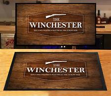 The Winchester Bar Beer label Wood effect pubs clubs Bar mat Home Bar