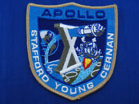 Vintage Lion Brothers Apollo 10 (X) Patch Mint or Near Mint NASA