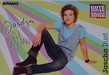 JASCHA RUST - Autogrammkarte - Autogramm Fan Sammlung GZSZ Clippings