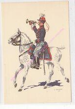 CP MILITARIA J DEMART Costumes Militaires 2e chasseur à cheval trompette 1914