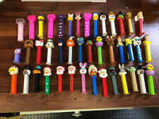 Lot Of 42 PEZ Dispensers Star Wars, Looney Tunes, Toy Story,Christmas, Halloween