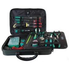 NEW Electronic Technician Tool Kit w/ case.Field Electrician Service Tech Set.