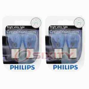2 pc Philips Brake Light Bulbs for Sunbeam Arrow 1967-1970 Electrical qv