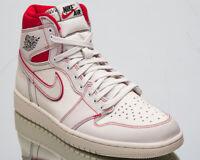 "Air Jordan 1 Retro High OG ""Phantom"" Men's New Sail Black Sneakers 555088-160"