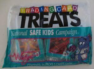 Widget Trading Card Safe Kids Unopened Bag Impel 24 Packs 72 Cards Total MIP