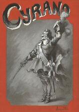 Louis ANQUETIN   Dessin original signé - Cyrano