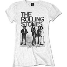 Rolling Stones camiseta chica blanco manga corta Est. 1962 Group Photo Oficial