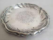 Vintage 1940s R Miracoli of Milano - .800 Silver -  Silver Candy Nut Dish Bowl