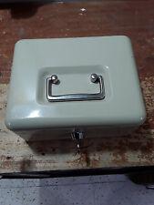 cassetta portavalori in metallo con chiusura a chiave