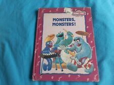 Sesame Street, Monsters, Monsters by Michaela Muntean, children's Book
