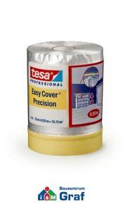 Tesa Easy Cover 4365 Pittori Mascheramento con Pellicola Coprente 33 M x 0,55 =