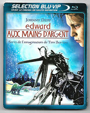 BLU-RAY + DVD / EDWARD AUX MAINS D'ARGENT - JOHNNY DEPP FILM TIM BURTON