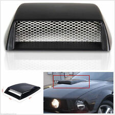 Auto Car Decorative 3D Simulation Air Flow Intake Hood Scoop Bonnet Vent Cover I