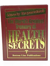 The World's Greatest Treasury of Health Secrets Bottom Line Books Hardcover