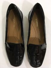 eb467536f5c Easy Spirit Womens Abide Loafer Black black Patent 6.5 N