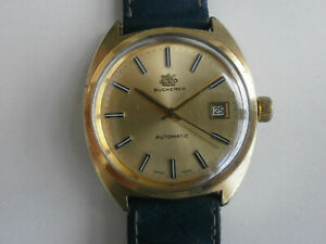 BUCHERER, automatic, cal. ETA 2472, case 37mm, Swiss