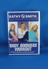 Kathy Smith Body Boomers Workout - Your Leader In Total Fitness - Brand New
