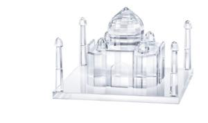 Swarovski Crystal Figurine Taj Mahal Clear 5428013 MIB W/COA
