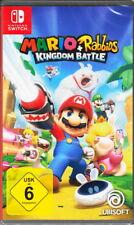Mario + Rabbids: Kingdom Battle-Nintendo switch-nuevo con embalaje original-versión en alemán