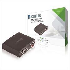 SCHEDA CONVERTITORE KONIG KNVCO3411 DA HDMI A VGA Femmina + 2x RCA Femmina