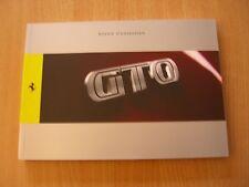 Betriebsanleitung Notice d´Entretien Ferrari GTO (F140CE)