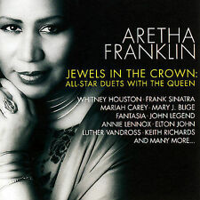 Jewels Crown All Star Duets Queen Soul Aretha Franklin CD 2007 Elton John Blige