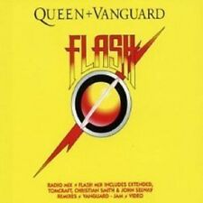 QUEEN Flash w/ Vanguard jam CD single RARE MIXES & VIDEO Freddie Mercury SEALED