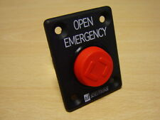 BUS DOOR PART - SINGLE EMERGENCY OPEN PNEUMATIC BUTTON - BUT006-ASY-P