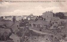 VISSAC 657 vue générale sud-ouest ruines ancien château féodal berceau LAFAYETTE