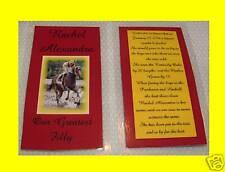 RACHEL ALEXANDRA CARD Horse Racing Collectible Keepsake Preakness Stakes