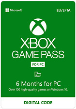Xbox Game Pass For PC 6 Months