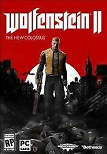 Wolfenstein II 2: the New Colossus - PC - NEW & SEALED!