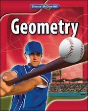 Geometry, Student Edition by McGraw-Hill, Glencoe Hardcover textbook book