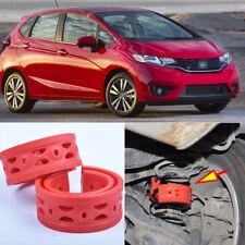2pcs Rear Air Suspension Shock Bumper Spring Coil Cushion Buffer For Honda Fit
