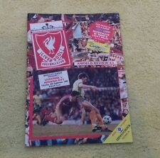175) Liverpool v Norwich City division one 16-9-1989