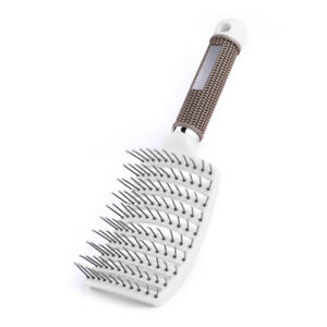 Barber Anti-static Curved Rows Comb Salon Hair Brush Hairdressing Massage Tool