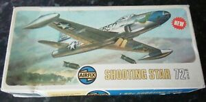 Airfix F-80C Shooting Star 1:72 02043-3 Vintage model Kit L33