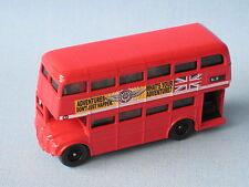 Matchbox routemaster rm bus londonien rouge corps aventure jouet voiture modèle 75mm
