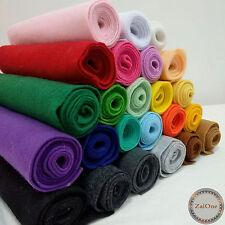 Soft Felt Non Woven Sheet Wool Blend Sewing Thick Fabric DIY Craft Material Yard