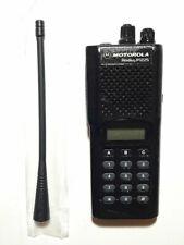 New listing MOTOROLA P1225 UHF 450-470MHz 16ch 4W DISPLAY RADIO W/FREE PROGRAMMING GMRS FRS