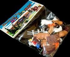 My granja set figuras de animales OVP 70er hong kong granja animals > Heinerle piñata