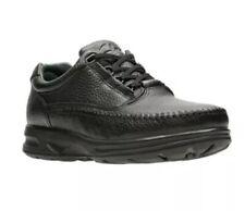 Clarks Men's Caribou SMU Lace-Up Black Leather Comfort Shoes Size:7.5M