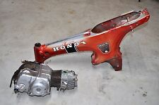 Vtg Honda CT70 Trail 70 K0 Silver Tag Frame & Matching Engine Motor A77