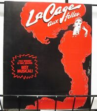 La Cage Aux Folles Broadway Souvenir Program 1985