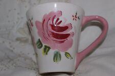 Cup Mug Tasse à café M & S Hand Painted Flowers