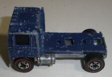 Hot Wheels Redline Semi truck blue