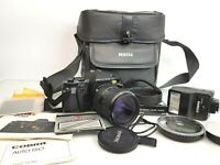 Pentax P30 35mm Film Camera with TAKUMAR-A Zoom 28-80mm f4.5 Lens & Accessories