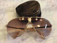 Sunglasses CARRERA PORSCHE DESIGN 5622 NEW Folding GOLD PLATED!!! Vintage